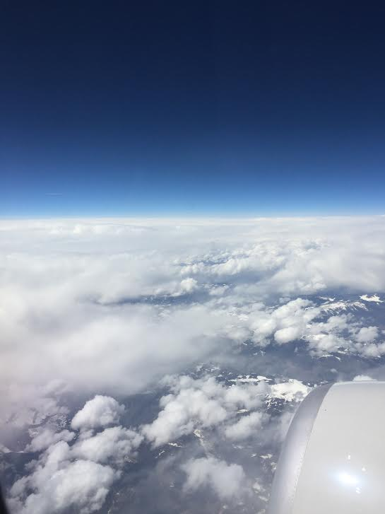 Coming Down Out of theClouds